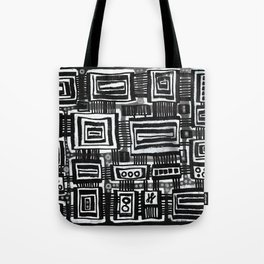"""Silence and Darkness"" Tote Bag"