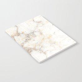 Marble Natural Stone Grey Veining Quartz Notebook