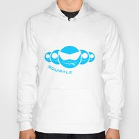 squirtle Hoodies featuring Squirtle Squad by Ube Bones