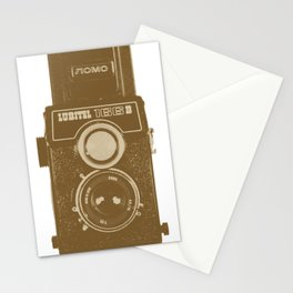 Lubitel Camera Stationery Cards
