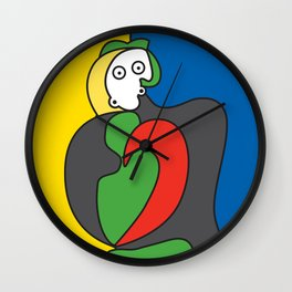 Ooh Zoo – art-series, Picasso Wall Clock