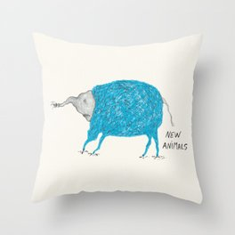New Animals project Throw Pillow