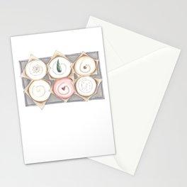 Cupcake Illustration Stationery Cards