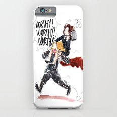 PEGGY CARTER IS WORTHY. Slim Case iPhone 6s