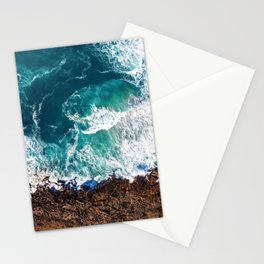 Waves on the Cliffs Stationery Cards