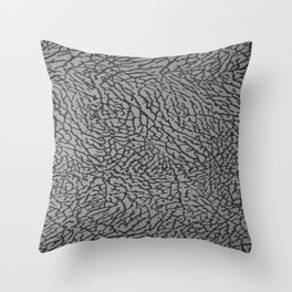 Cement from your Jordan sneakers;) Throw Pillow
