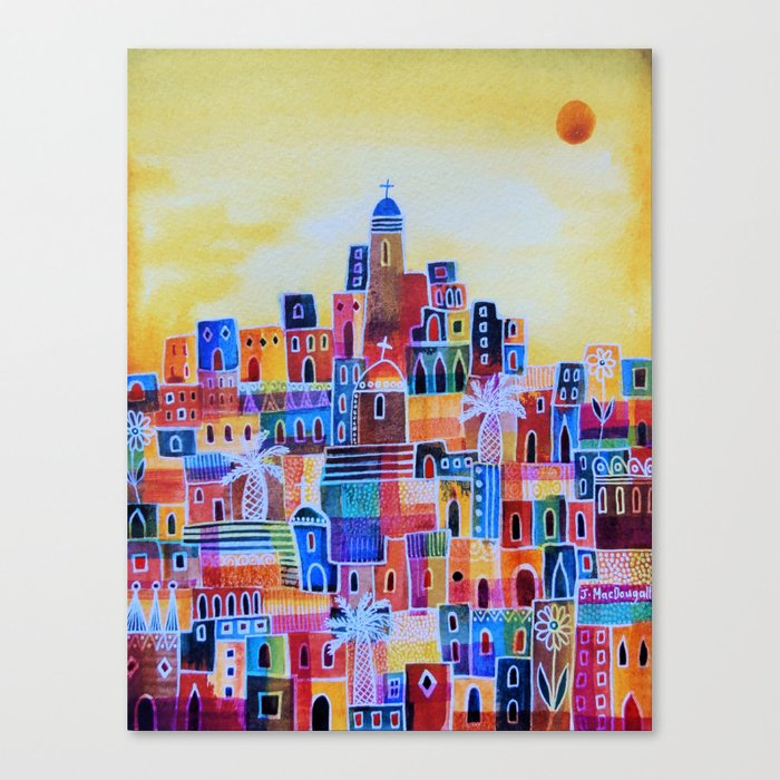 Eastern Summer Canvas Print