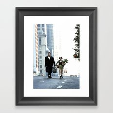 LEON, THE PROFESSIONAL Framed Art Print