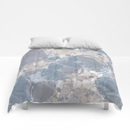 Round & Round Smoke & Steel Comforters