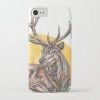 stag iPhone & iPod Cases featuring Stag by Meredith Mackworth-Praed