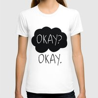 fault in our stars T-shirts featuring OKAY? OKAY. The Fault in Our Stars by Alan Lima