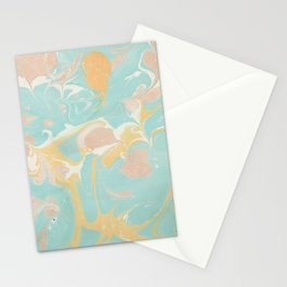 Marble 10 Stationery Cards