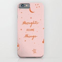 Manifest Magic  iPhone Case