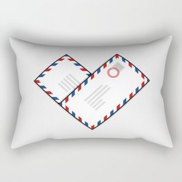 Love Letters Rectangular Pillow