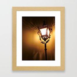 The Light Dances  Framed Art Print