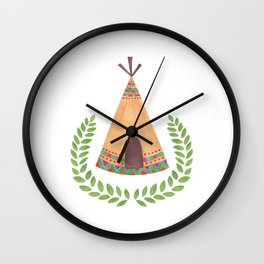 Tipi Wall Clock