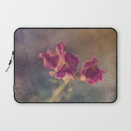 Snapdragon flowers Laptop Sleeve