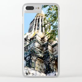 Ang Duong Stupa Clear iPhone Case