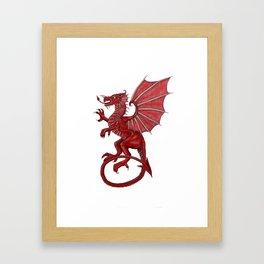 Cymru am byth Framed Art Print