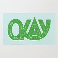 okay Area & Throw Rugs featuring OKAY by Josh LaFayette