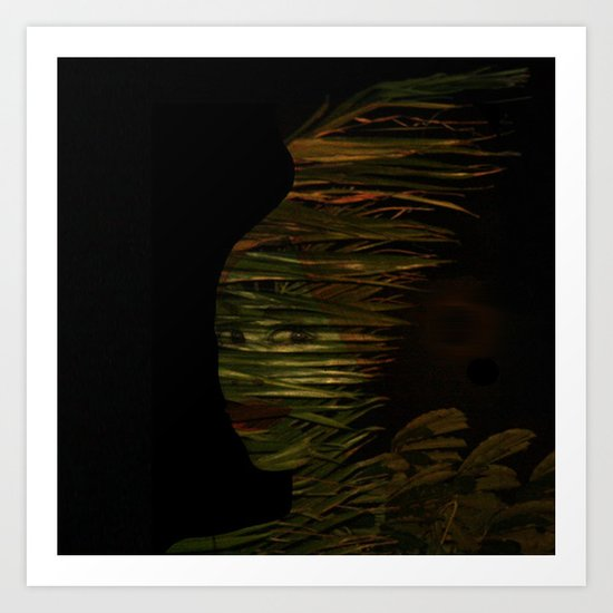 Lady of the Night Art Print