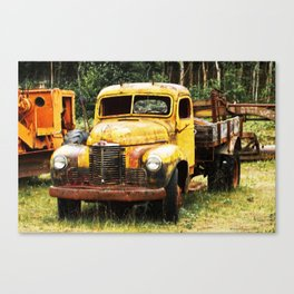 Remember Where You Started Canvas Print