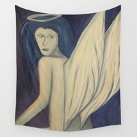 angel wings Wall Tapestries featuring Angel Wings by Griffin Lauerman