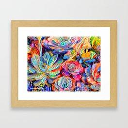 Escheveria Delight Framed Art Print