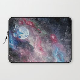 Space and the Moon Laptop Sleeve