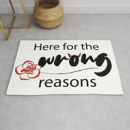 The Bachelor | Here for the wrong reasons Rug