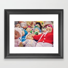 It's a Doll's Life Framed Art Print