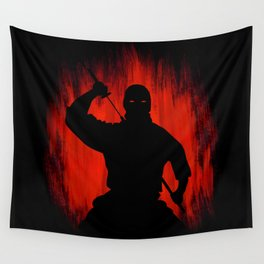 Ninja / Samurai Warrior Wall Tapestry