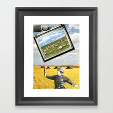 The Battlefield Of Today Framed Art Print