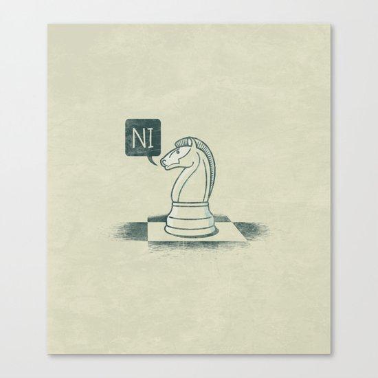 The Knight Who Said Ni Canvas Print