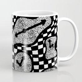 Trippy Clock Coffee Mug