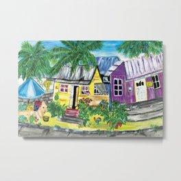 Homes, Sweet Island Homes Metal Print