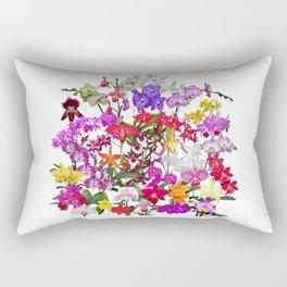 A celebration of orchids Rectangular Pillow