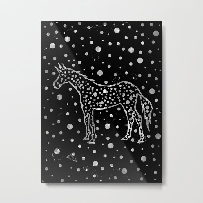 I Spot a Unicorn Too Metal Print
