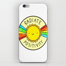 positivity iPhone Skin