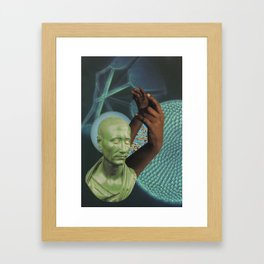claws out Framed Art Print