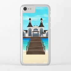 Seebrücke Sellin Clear iPhone Case