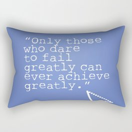 Robert F. Kennedy quote Rectangular Pillow