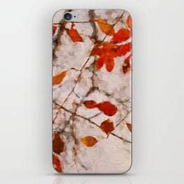Leaves of Autumn iPhone Skin
