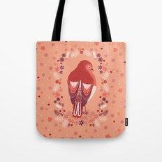 Petite Robin Red Breast Tote Bag