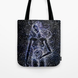 Nuit - The Starry Goddess Tote Bag
