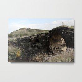 Old Gesher-Train Bridge Metal Print