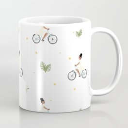 Bike Ride Pattern Kaffeebecher