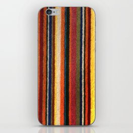 Paris Metro Cushion Fabric iPhone Skin