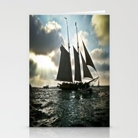 pirate ship Stationery Cards featuring Pirate Ship by @DaBrooks