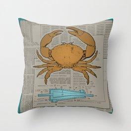 Analog Throw Pillow